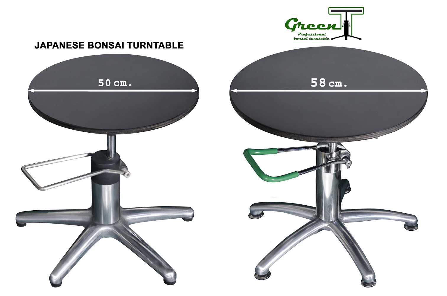 Green-T bonsai turntable