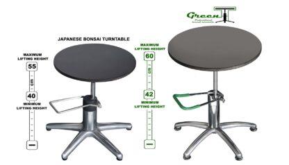 Green-T bonsai turntable